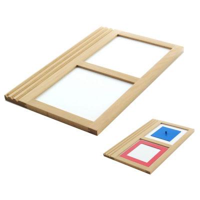 铁制几何图形拼板描摹盘