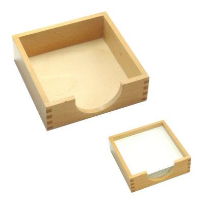铁制几何图形拼板用纸木盒