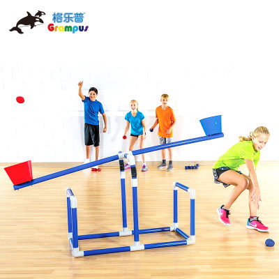 台湾格乐普沙包投掷运动平衡组