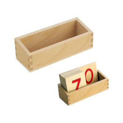 数字板木盒