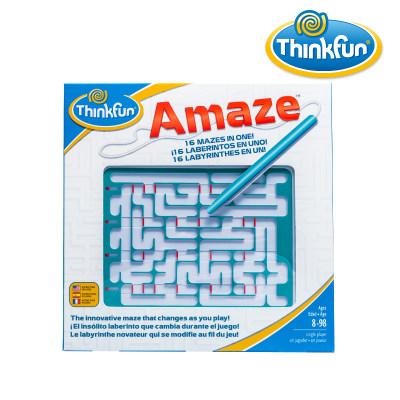 Thinkfun 儿童益智玩具男孩Amaze掌上迷宫女孩儿童玩具锻炼空间推理与独立思考6-8-12岁