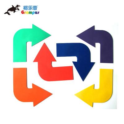 台湾格乐普直行转弯标志盘