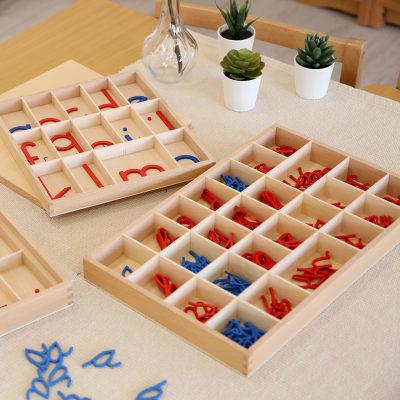 小号草体活动字母盒(小写字母)