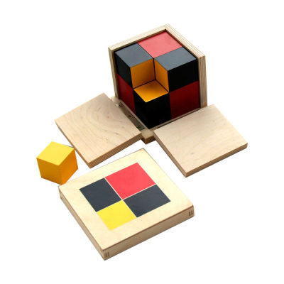 代数二项式立方体