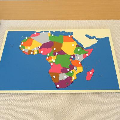 非洲地图拼图
