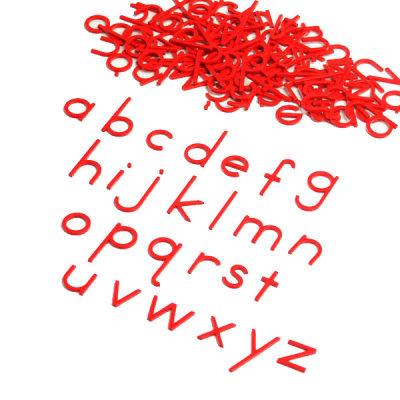 正体小写活动字母