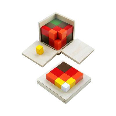 代数三项式立方体