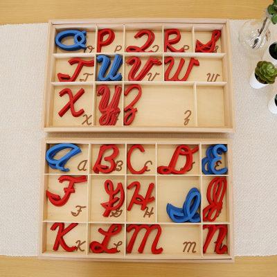 中号草体活动字母盒(大写字母)
