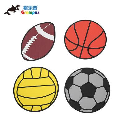 台湾格乐普球类标志盘