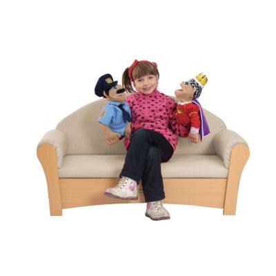 儿童双人位沙发(有扶手)