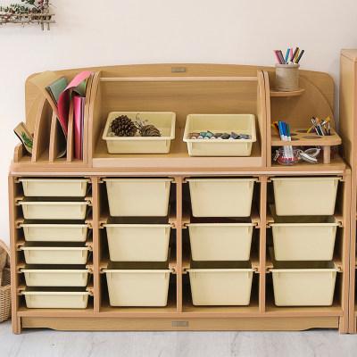 供应组合抽屉柜配收纳盒(124cm)