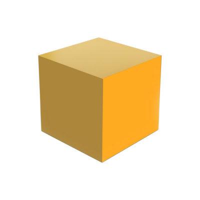 黄色正方体