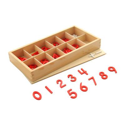 木制数字与符号