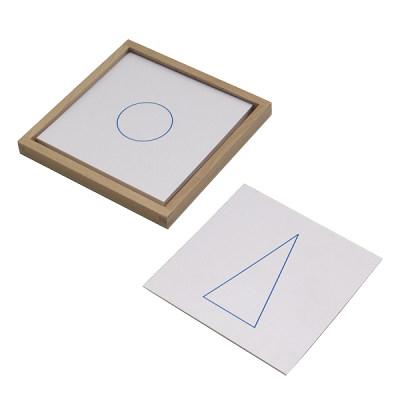 立体几何卡片(带托盘)
