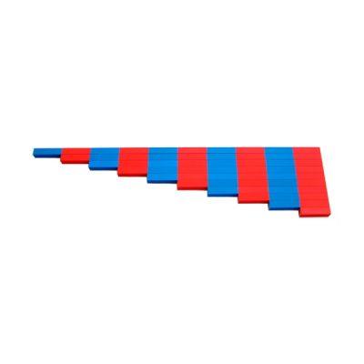 红蓝数字棒
