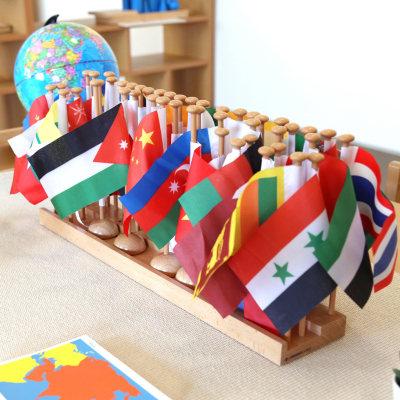 亚洲国旗套装