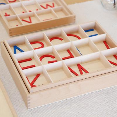 中号活动字母盒(大写字母)