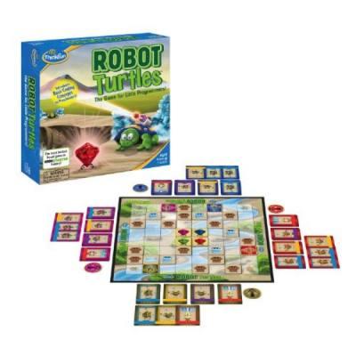 Thinkfun 儿童益智玩具机器乌龟编程 亲子棋盘类编程桌游4-12岁男孩女孩儿童STEM玩具