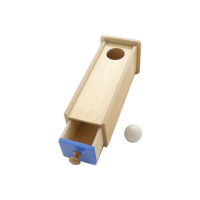 抽屉盒子与球