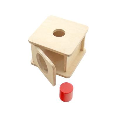 小号圆柱体形体盒