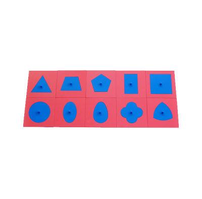 铁制几何图形拼板