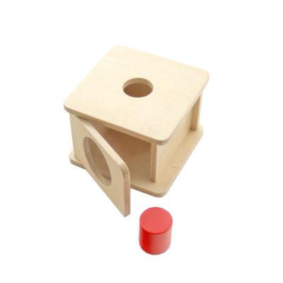 大号圆柱体形体盒