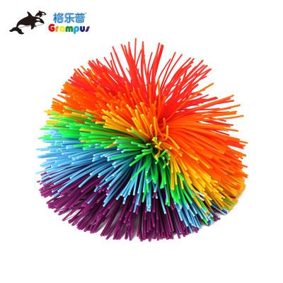 台湾格乐普小号混色橡筋球