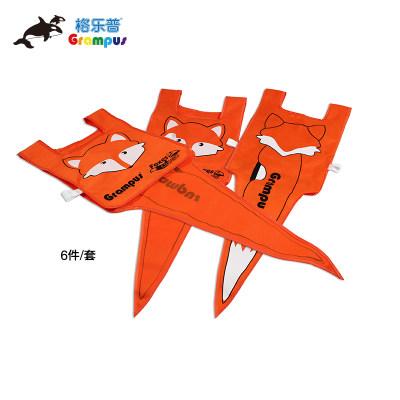 台湾格乐普狐狸和乌鸦