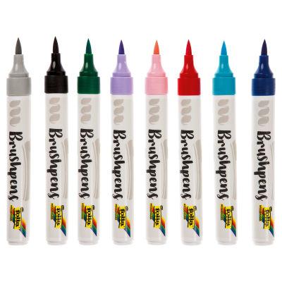 Folia8色软头彩笔